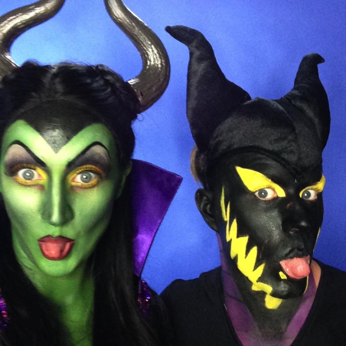 Maleficent Makeup