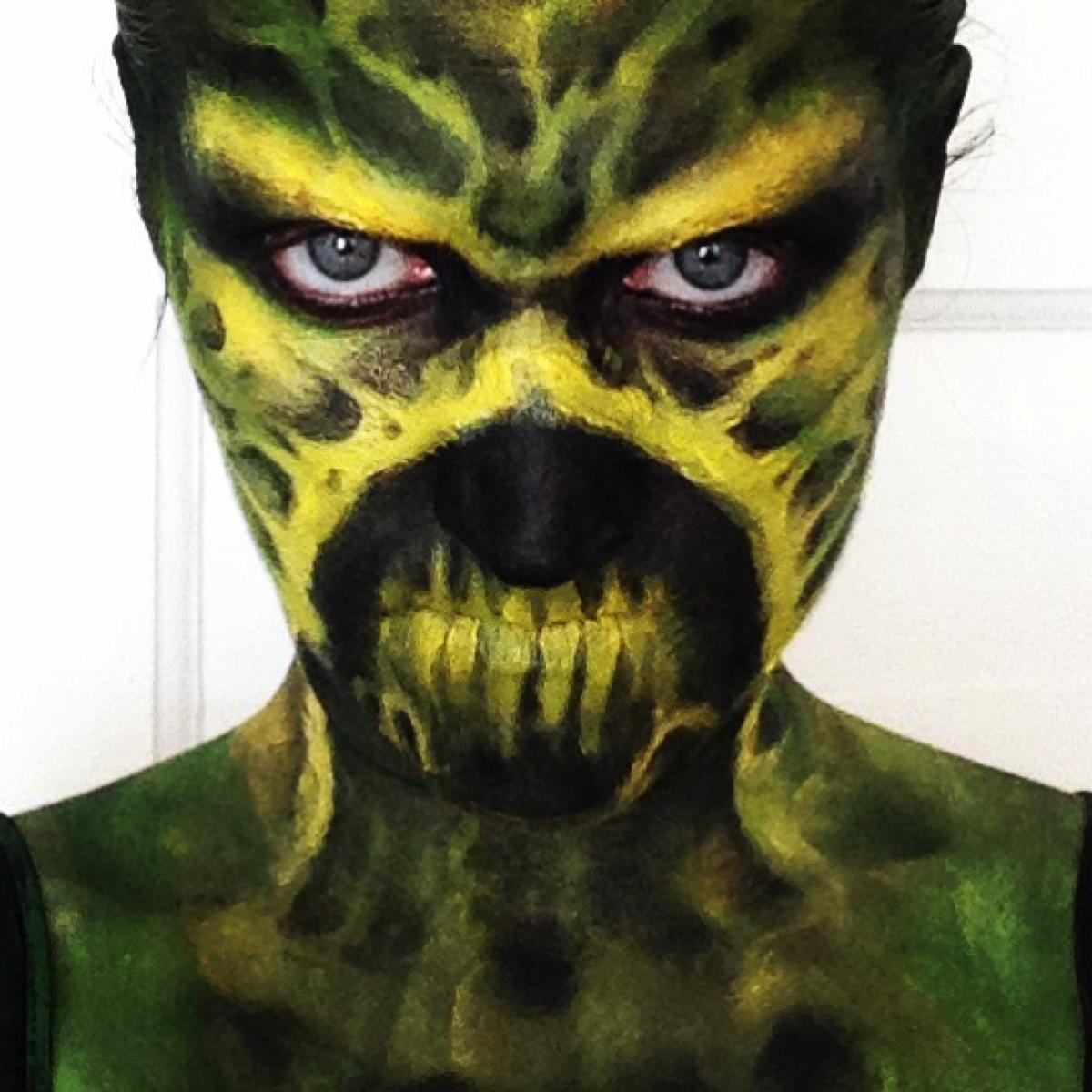 Swamp Thing Makeup