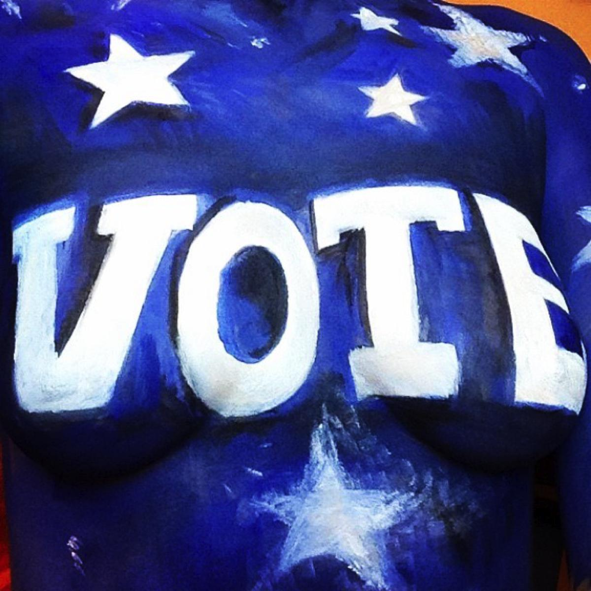 Vote Body Paint